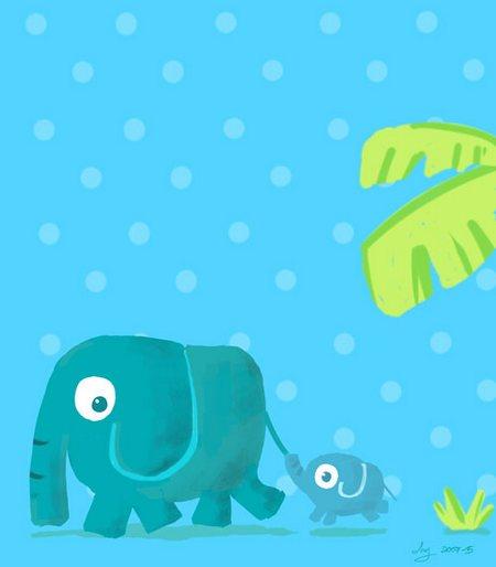 ช้างสีน้ำทะเล
