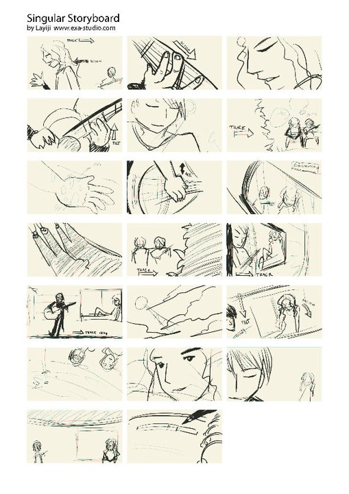 singular storyboard 2 by exa studion